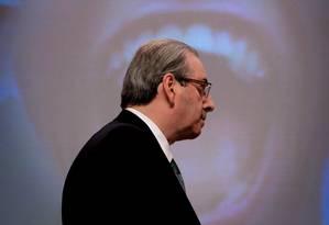 Eduardo Cunha participa de debate promovido pelo Grupo de Líderes Empresariais (LIDE) Foto: Marcos Alves 27-07-2015 / Agência O Globo