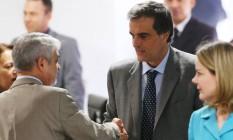 Comissão do impeachment no Senado Federal se reúne para mais uma sessão de defesa da presidente Dilma Rousseff. Na foto, o ministro da AGU, José Eduardo Cardozo. Foto: Ailton Freitas / Agência O Globo