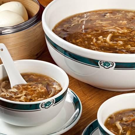 Sopa de Pequim do Mr.Lam Foto: Rodrigo Azevedo / Divulgação