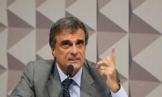 Comissão especial do impeachment no Senado Federal rebate parecer do relator Antônio Anastasia (PSDB-MG) Foto: Ailton Freitas / Agência O Globo