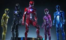 O novo uniforme dos Power Rangers Foto: Reprodução
