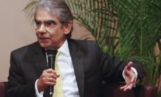 Ex-ministro do STF, Carlos Ayres Foto: Hudson Pontes/Arquivo (20-03-2013) / Agência O Globo