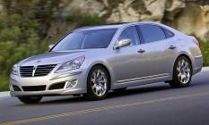 Hyundai Equus 2012: problemas no limpador de para-brisas Foto: Divulgação