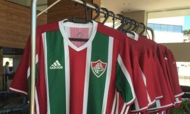 Camisas raras do Fluminenseroubadas do clube Foto: Divulgação