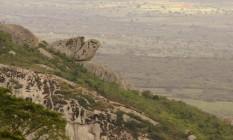 Serra Negra, em Pernambuco, oferece lazer contemplativo entre grutas e formações rochosas Foto: Eudes Santana / Divulgação