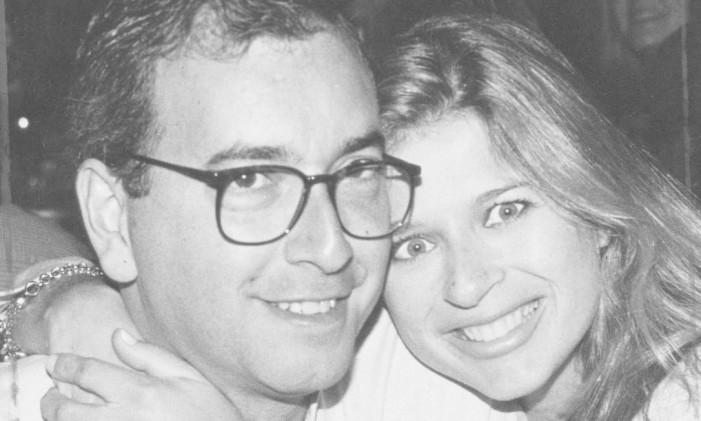 Eduardo Cunha e a mulher Cláudia Cruz no show de Elba Ramalho no Rio Foto: Cristina Granato 06/05/1997