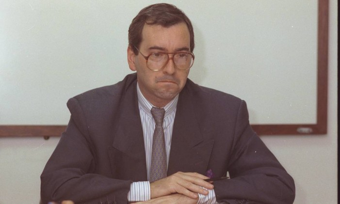 O deputado Eduardo Cunha em abril de 2000 Foto: Carlos Ivan