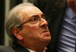 O deputado Eduardo Cunha (PMDB-RJ), afastado pelo STF Foto: Ailton de Freitas / Agência O Globo / 28-3-2016