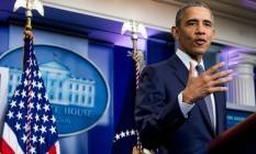 Obama: alerta sobre Trump Foto: Andrew Harnik / AP