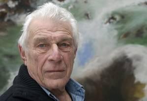 O escritor inglês John Berger, em 2009 Foto: AFP/ULF ANDERSEN