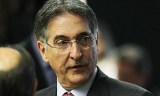 O governador de Minas Gerais, Fernando Pimentel Foto: Jorge William / Agência O Globo / 27-4-2016
