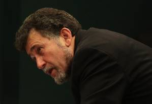 A escolha de Sofia. Os deputados Valmir Prascidelli (PT-SP) e Zé Geraldo (PT-PA) conversam no Conselho de Ética da Câmara Foto: Ailton de Freitas / 1-12-2015