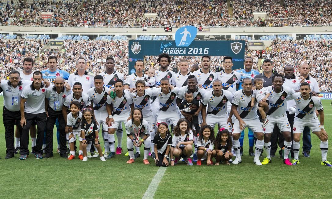 Vasco bicampeão carioca 2015/2016 Guito Moreto / Agência O Globo