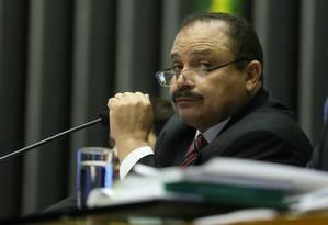 Waldir Maranhão, presidente interino da Câmara Foto: André Coelho / Agência O Globo