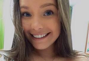 A estudante Ana Beatriz Frade, morta durante arrastão em Del Castilho Foto: Reprodução