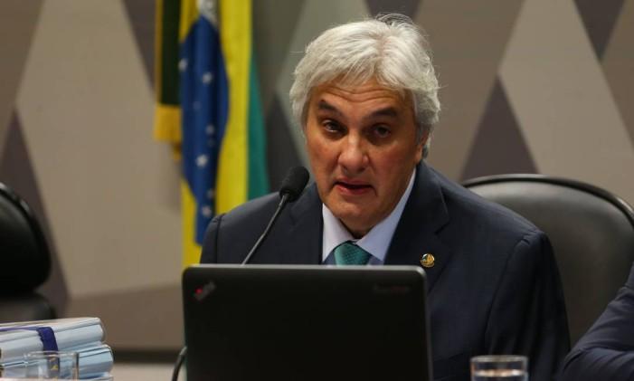 O ex-senador Delcídio Amaral (sem partido-MS) Foto: Ailton Freitas / Agência O Globo / 9-5-2016