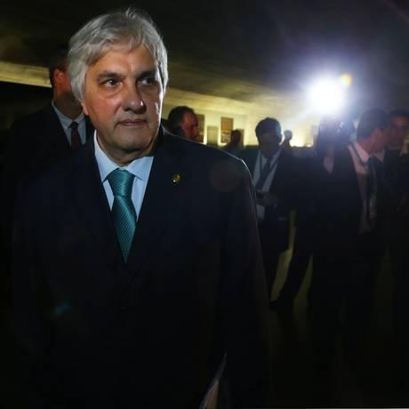 O Senador Delcídio do Amaral (sem Partido-MS) Foto: Ailton de Freitas / Agência O Globo