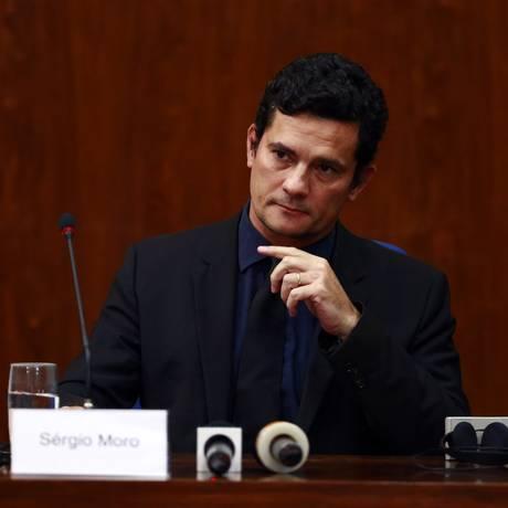 O juiz federal Sérgio Moro, responsável pelos processos da Lava-Jato Foto: Edilson Dantas / Agência O Globo 29/03/2016