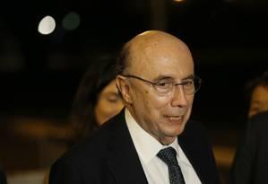O presidente do Banco Central Henrique Meirelles Foto: Andre Coelho / Agência O Globo / 2-5-2016