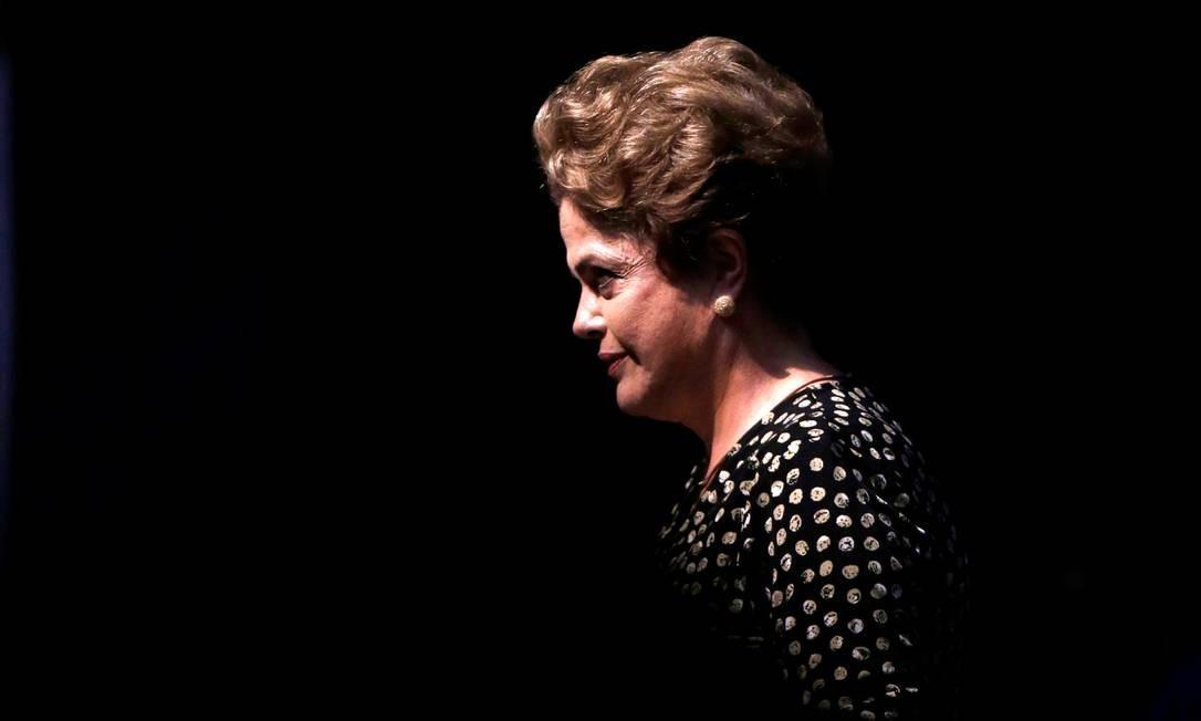 A presidente Dilma Rousseff: Senado vota seu afastamento nesta quarta Foto: Ueslei Marcelino / Reuters / 10-5-2016