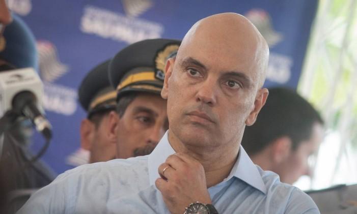 O secretário da Segurança Pública de SP, Alexandre de Moraes Foto: Aby Saber / 18-12-2015