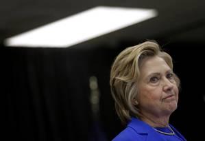 Hillary Clinton visita Centros de Saúde da Família em Louisville, Kentucky Foto: Patrick Semansky / AP