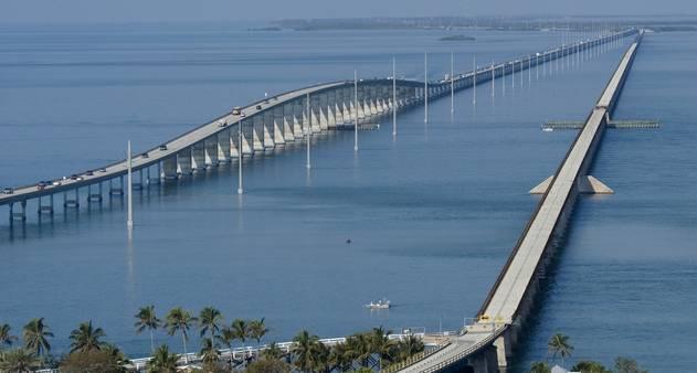 Flrida Keys a travessia em uma estrada sobre o mar  Jornal O Globo