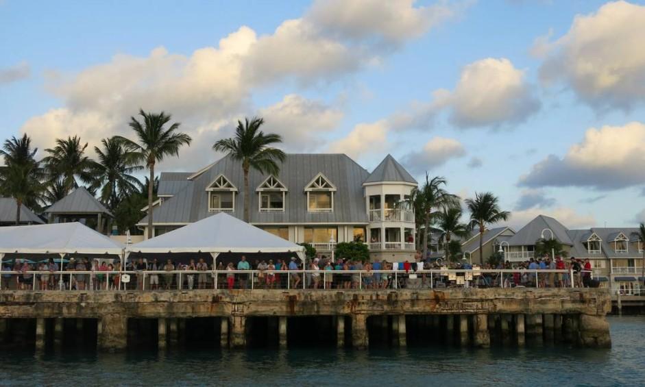 Píer de Key West, a principal cidade das Flórida Keys, o arquipélago que forma a parte mais ao sul do território dos Estados Unidos Foto: Carolina Mazzi / O Globo