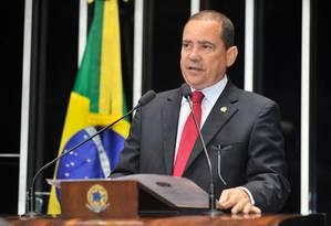 Senador Vicentinho Alves, do PR, notificará Dilma de seu afastamento Foto: Agência Senado