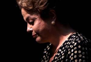Dilma para a capa REUTERS/Ueslei Marcelino Foto: UESLEI MARCELINO / Agência O Globo