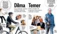 Estilos de Dilma e Temer