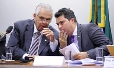 Relator de Cunha no Conselho de Ética, Marcos Rogério (à esq.)vai incluir recebimento de propina no parecer Foto: Agência Câmara