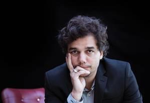 O ator Wagner Moura Foto: Arquivo