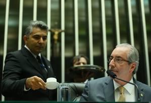 O deputado suspenso Eduardo Cunha: direitos garantidos Foto: Ailton Freitas / Arquivo O Globo 04-05-2016