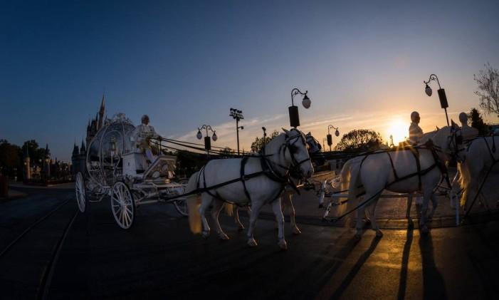 Destinos para casamento. Magic Kingdom, no Walt Disney World, Orlando, Flórida Foto: Divulgação