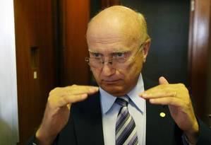 Parecer encomendado por Osmar Serraglio defende que sejam convocadas novas eleições para a presidência da Câmara Foto: Ailton Freitas / Agência O Globo