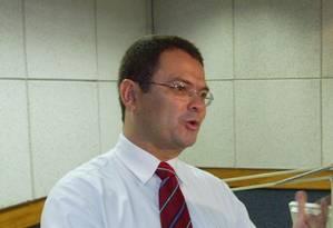 O jornalista Sidney Rezende em 2006 Foto: Gabriel de Paiva / Agência O Globo / 11-10-2006