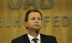 O presidente da OAB, Claudio Lamachia Foto: André Coelho / Agência O Globo