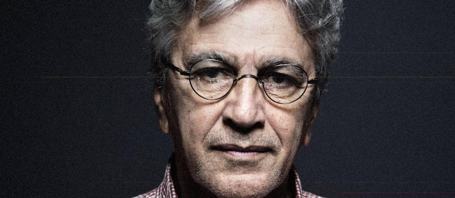 Cantor e compositor Caetano Veloso preparou artigo sobre o fim do MinC Foto: Leo Aversa
