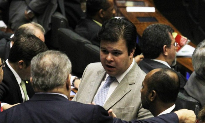 Fernando Coelho Filho, filho do senador Fernando Bezerra Foto: André Coelho / Agência O Globo