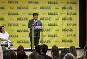 O ministro da Educação, Mendonça Filho Foto: Michel Filho / Agência O Globo