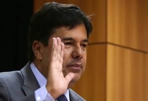 Mendonça Filho não quer adiantar nomes para a secretaria que funcionará no MEC Foto: Michel Filho / O Globo/13-5-2016