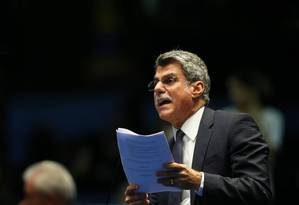 Ministro Romero Jucá Foto: Ailton de Freitas / Arquivo/13-04-16