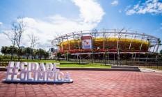 Parque Olímpico, na Barra da Tijuca, receberá atletas de diversos países nas Olimpíadas de 2016 Foto: Renato Sette Camara / Prefeitura do Rio