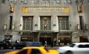 O hotel Waldorf Astoria, em Nova York, vendido à empresa chinesa Anbang em 2015 Foto: SPENCER PLATT / AFP/6-10-2014