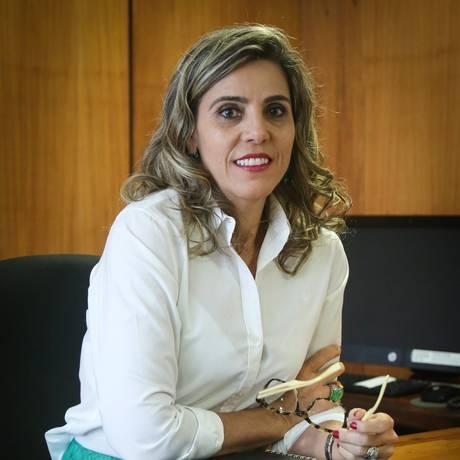 Reconhecimento. Nara de Deus diz que cargo é uma conquista profissional Foto: Andre Coelho / Agência O Globo