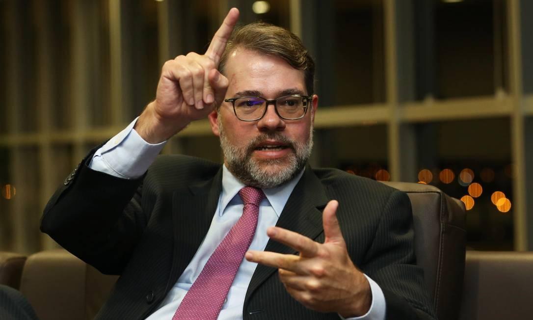 Dias Toffoli, ministro do STF Foto: Ailton de Freitas / Agência O Globo