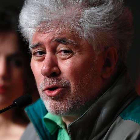 Pedro Almodóvar está em Cannes para promover 'Julieta' Foto: LAURENT EMMANUEL / AFP