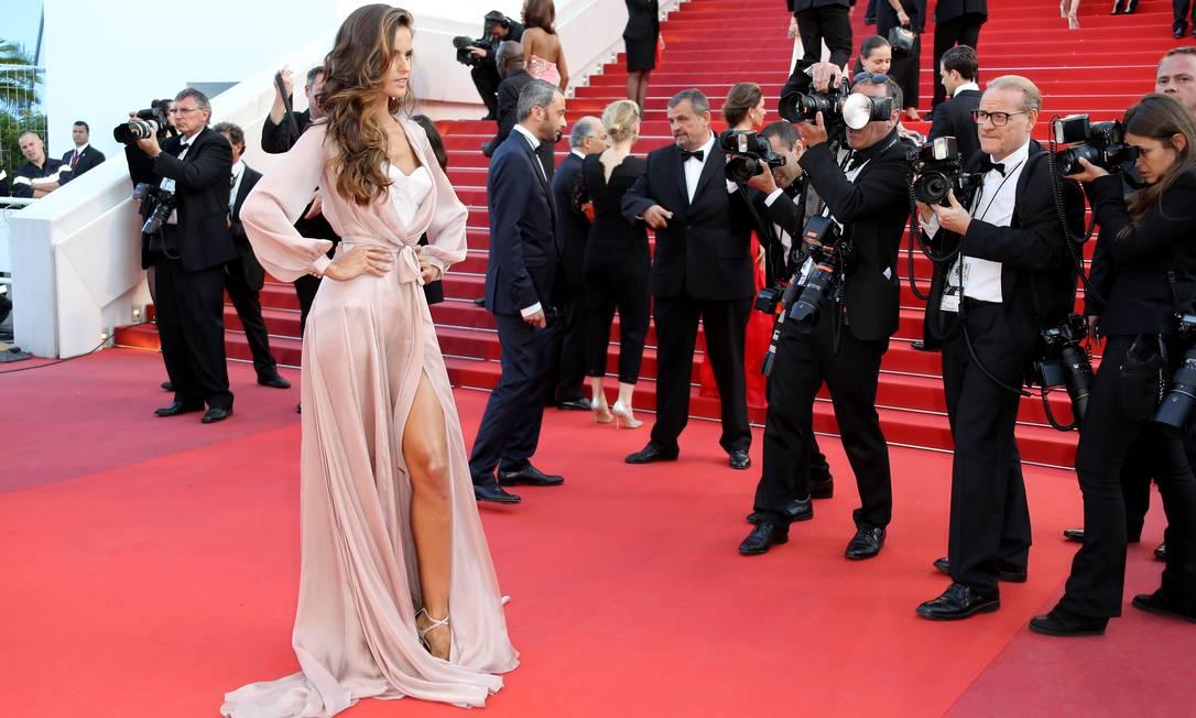 Izabel: poderosa em Cannes VALERY HACHE / AFP