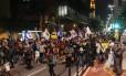 Protesto contra Temer para a Avenida Paulista no início da noite